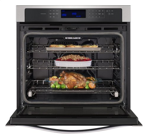 5.0 cu. ft. Single Wall Oven with True Convection