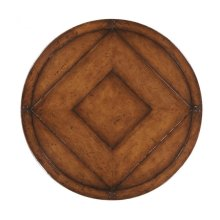 "32"" Country Walnut Lazy Susan"