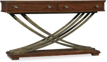 Palisade Cross Base Console Table