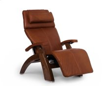 "Perfect Chair PC-LiVE "" - Cognac Premium Leather - Walnut"