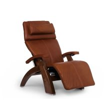"Perfect Chair PC-LiVE "" - Cognac Premium Leather - Walnut"