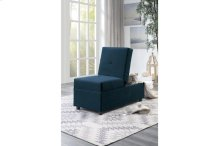 Storage Ottoman/ Chair, Blue