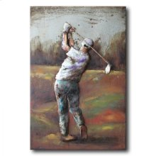 Back Nine 47x31 Metal Art