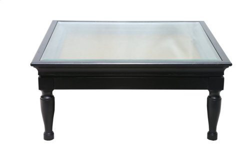 Cocktail Table, Available in Distressed White Finish Only.