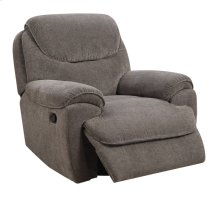 Emerald Home Kramer Swivel Glider Recliner Platinum U7060-04-13