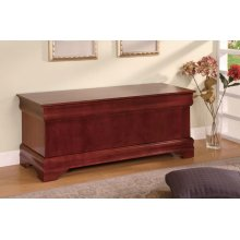 Louis Philippe Traditional Warm Brown Chest