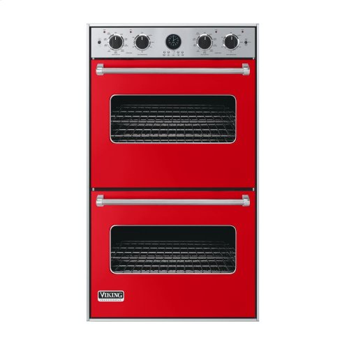 """Racing Red 30"""" Double Electric Premiere Oven - VEDO (30"""" Double Electric Premiere Oven)"""