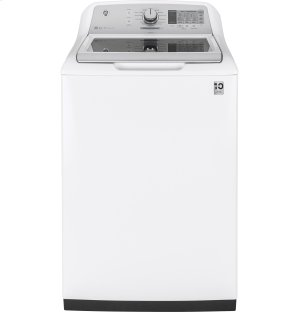 GE® 5 0 cu  ft  Capacity Washer with Stainless Steel Basket