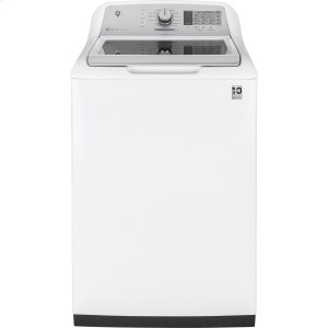 ®5.0 cu. ft. Capacity Smart Washer with Stainless Steel Basket -