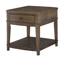 Rectangular End Table-KD