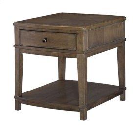 Rectangular End Table-KD