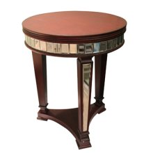 Wilshire Mirror and Rouge Round Table