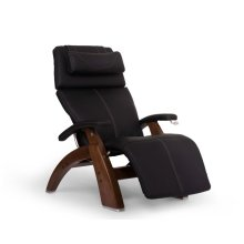 Perfect Chair PC-420 Classic Manual Plus - Black SofHyde - Walnut