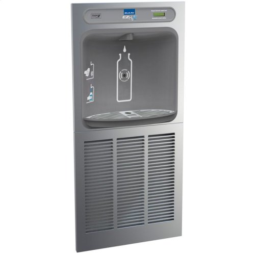 Elkay EZH2O In-Wall Bottle Filling Station, High Efficiency Non-Filtered 8 GPH Stainless
