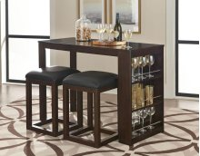 Porter Counter Height Table & 2 Stools