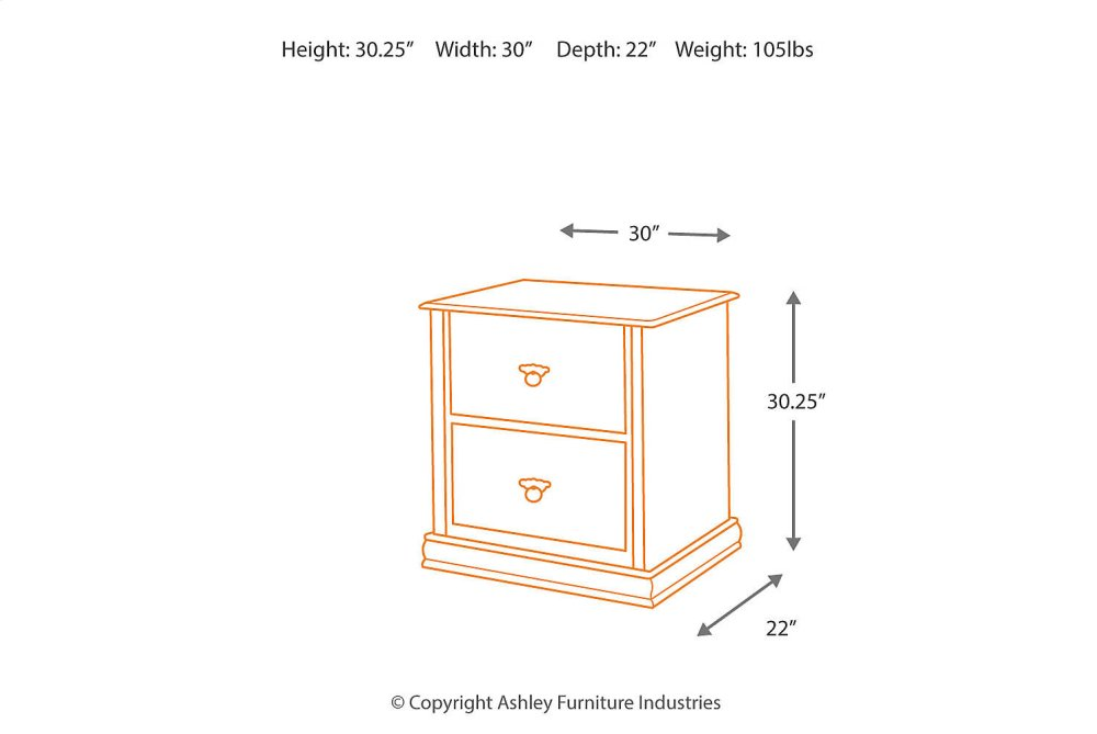 Hidden · Additional Lateral File Cabinet