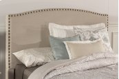 Kerstein Fabric Headboard - Full - Headboard Frame Not Included - Lt Taupe