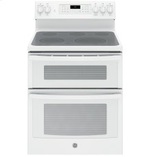 "GE® 30"" Free-Standing Electric Double Oven Convection Range"