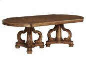 Chateau Double Pedestal Dining Table