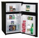 Model RA3101BT - 3.1 CF Two Door Counterhigh Refrigerator - Black Product Image