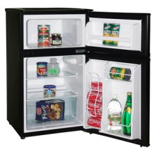 Model RA3101BT - 3.1 CF Two Door Counterhigh Refrigerator - Black
