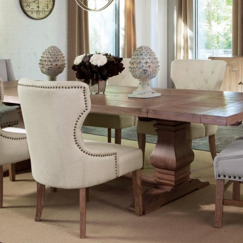 Traditional Rustic Smoke Dining Chair