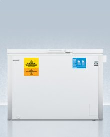 Laboratory Chest Freezer Capable of -35 C (-31 F)operation With Dual Blue Ice Banks