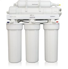 5-Stage Reverse Osmosis System for Treating Difficult or Problematic Well Water with TDS in Excess of 1,000 ppm or mg/l. Also available with UV Disinfection.