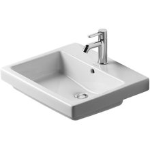 Vero Vanity Basin 1 Faucet Hole Punched