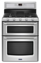 Gemini® Double Oven Gas Stove with EvenAir True Convection - 6.0 total cu. ft. Product Image