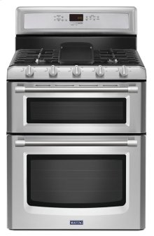 Gemini® Double Oven Gas Stove with EvenAir True Convection - 6.0 total cu. ft.