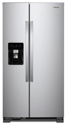 36-inch Wide Side-by-Side Refrigerator - 24 cu. ft.