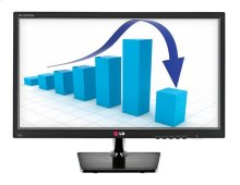 "20"" class (19.5"" measured diagonally) LED Back-lit Commercial Desktop Monitor"