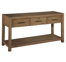Weathered Transitions Sofa Table