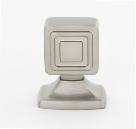 Cube Knob A986-1 - Satin Nickel