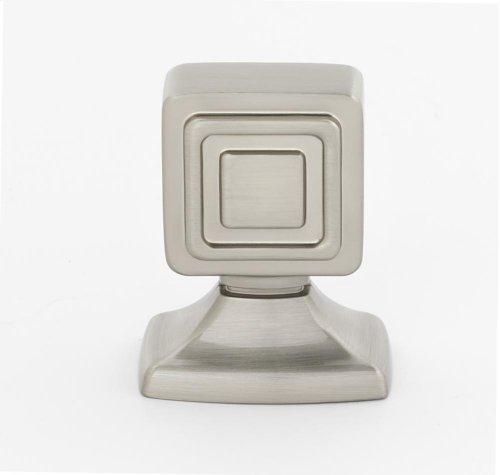 Cube Knob A986-1 - Satin Nickel