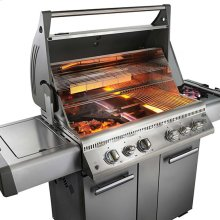 LEX 605 with Side Burner and Infrared Bottom & Rear Burners
