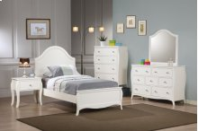 Twin 5pc Set (T.BED,NS,DR,MR,CH)