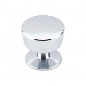 Essex Knob 1 3/16 Inch - Polished Chrome