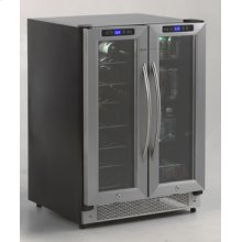 Model WBV21DZ - Side-by-Side Dual Zone Wine/Beverage Cooler