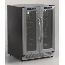 Model WBV21DZ - Side-by-Side Dual Zone Wine/Beverage Cooler