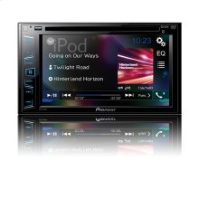 "Multimedia DVD Receiver with 6.2"" WVGA Display, and Built-in Bluetooth®"