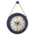 Compass Wall Clock with Ship Wheel Hook Product Image