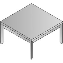 "Kenwood End Table 24""x24""x20"""