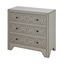 Springfield 3 Drawer Nailhead Chest