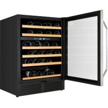 "24"" Wide Built-In Dual Zone Wine Chiller"
