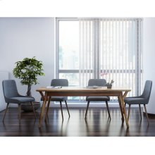 Mira/Mia 7pc Dining Set, Sheesham/Dark Grey