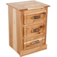 HT463 Hickory 3 Drawer Nig