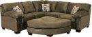 Contemporary R Arm Corner W Sofa Product Image