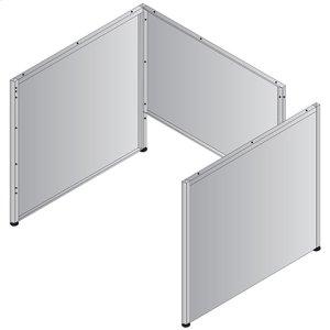 """Metal Desk Base - 48""""/50"""" Desk"""